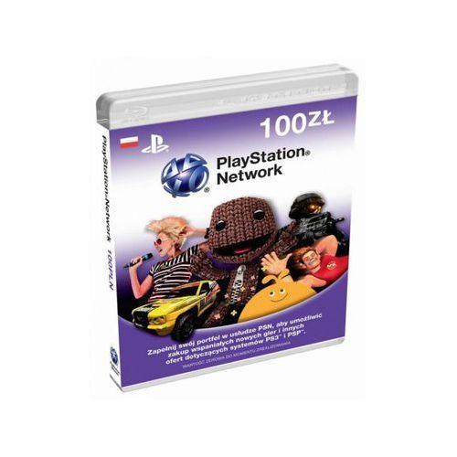 Sony PlayStation Live Cards 100 PLN (0711719169055)
