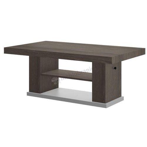 Ława Matera 2 podnoszona i rozkładana - sheffield-umbra + szary - produkt z kategorii- stoliki i ławy