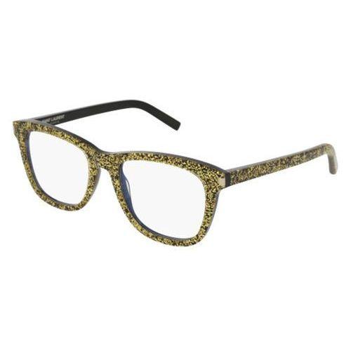 Okulary korekcyjne sl 168 003 marki Saint laurent