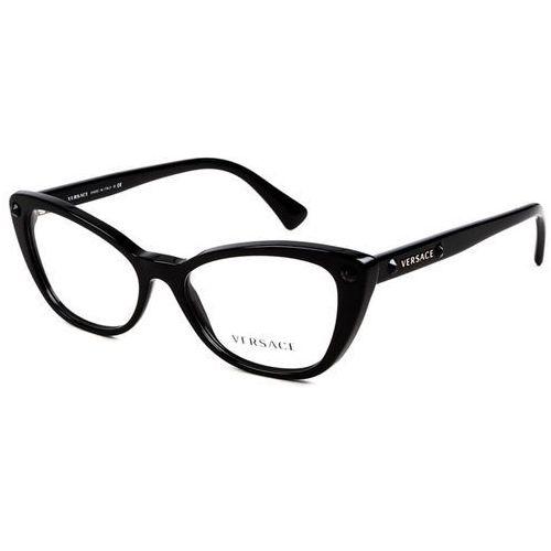 Okulary korekcyjne ve3222b crystal charm gb1 marki Versace