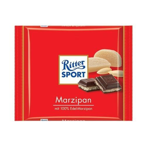 Czekolada Ritter Sport Marzipan 100g (4000417025005)