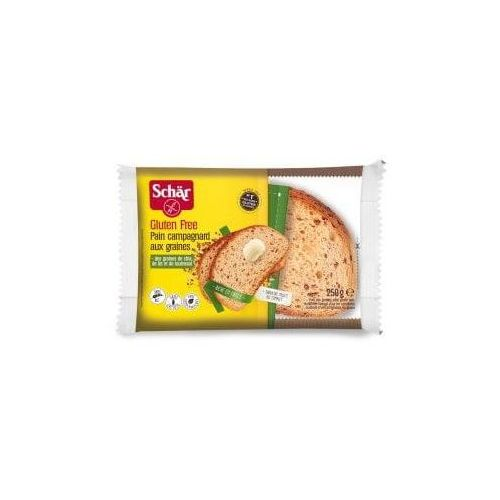 Pain Campagnard aux graines- chleb wieloziarnisty BEZGL. 250 g