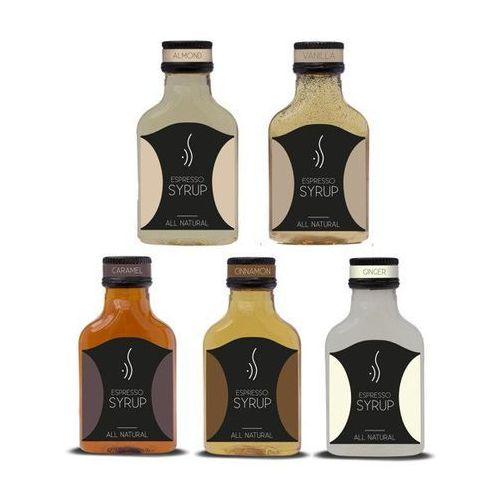 Espresso syrop Zestaw zimowych smaków espresso syrup 5x100 ml