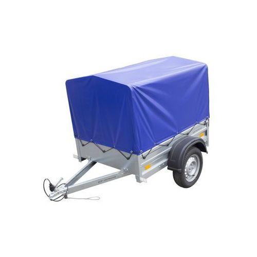 Przyczepa samochodowa lekka 150 x 106 z plandeką i stelażem dmc 750 kg garden trailer 150 wyprzedaż marki Unitrailer