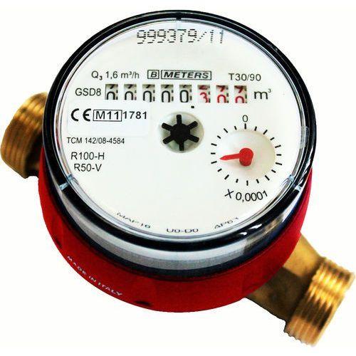 Wodomierz GSD8 1/2 do ciepłej wody BMeters z kategorii Wodomierze