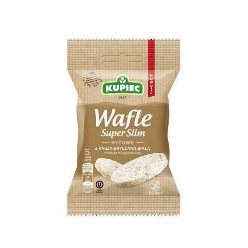 Kupiec Wafle ryżowe z kaszą gryczaną białą super slim 20 g