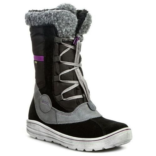 Śniegowce ECCO - Neela 72609352570 Black/Titanium