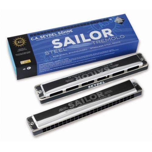 Seydel 26480c sailor steel 48 c, harmonijka ustna
