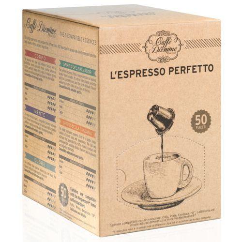 Diemme spirito della tanzania kapsułki do nespresso – 50 kapsułek marki Nespresso kapsułki