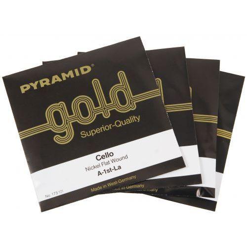 Pyramid 173100 Gold Cello struny wiolonczelowe 4/4