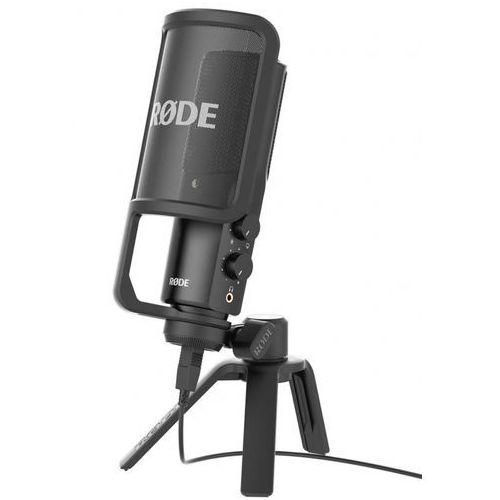 nt-usb studyjny mikrofon pojemnościowy marki Rode
