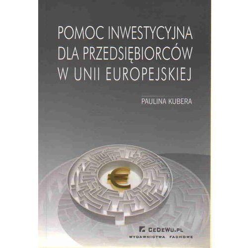 Pomoc inwestycyjna dla przedsiębiorców w unii europejskiej, oprawa miękka