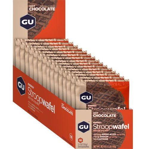 stroopwafel żywność dla sportowców hot chocolate 16 x 32g 2018 zestawy i multipaki marki Gu energy