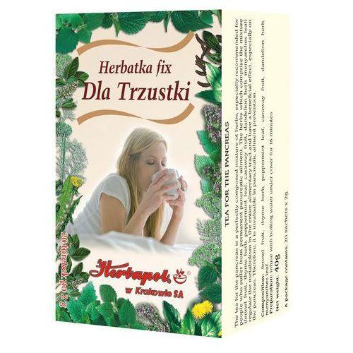 Herbata dla trzustki fix 20*2g marki Herbapol kraków