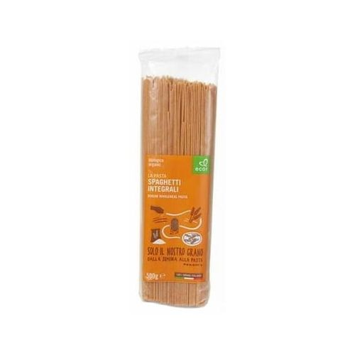 Ecor Makaron spaghetti pełnoziarnisty bio 500 g - ecor (8019010258273)