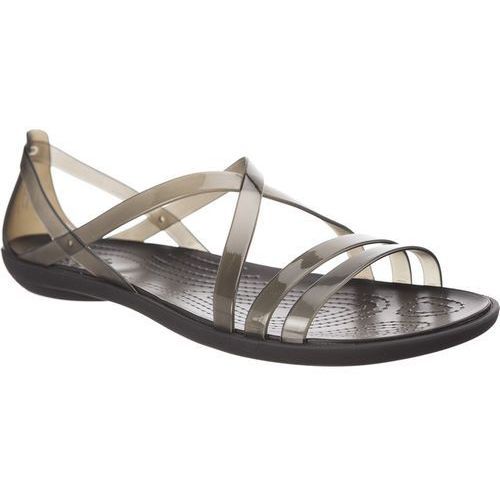 Sandały Crocs Isabella Strappy Sandal Black BLACK/LIGHT GREY