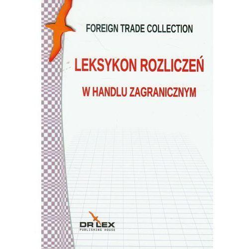 Leksykon rozliczeń w handlu zagranicznym, oprawa miękka