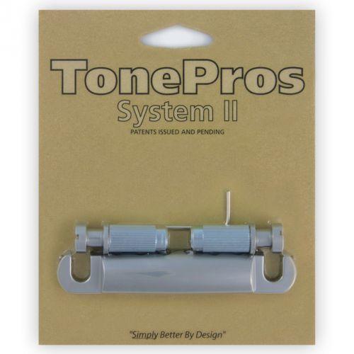 TonePros T1Z-SC - Tailpiece, części mostka do gitary, satynowy chrom