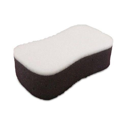 GĄBKA DWUSTRONNA wielozadaniowa gąbka do mycia ręcznego o zróżnicowanej strukturze, strona szara:miękka do ogólnego mycia, biała: do usuwania (5906534004864)
