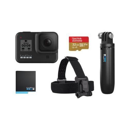 Kamera sportowa GOPRO HERO8 Black + zestaw akcesoriów DARMOWY TRANSPORT (0818279024258)