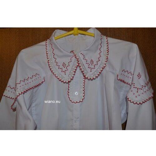 Koszula damska ręcznie haftowana (kś-4) (na zamówienie) - oferta [9520d2a11f536466]