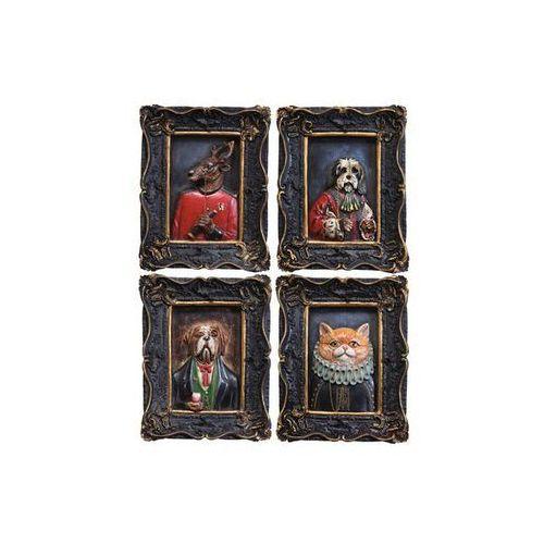 Kare Design Colonial Gentleman Animals 18x22 Obraz (32746) (obraz)