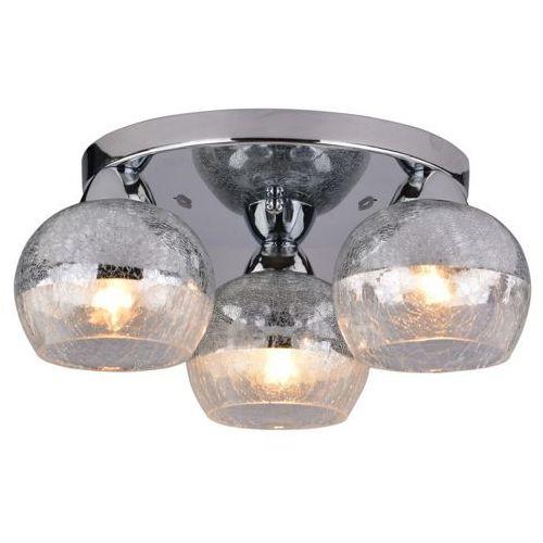 Plafon lampa oprawa sufitowa cromina okrągły 3x60w e27 chrom 98-55637 marki Candellux