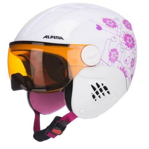 carat visor s2 - kask narciarski r. 48-52 cm - 55% marki Alpina
