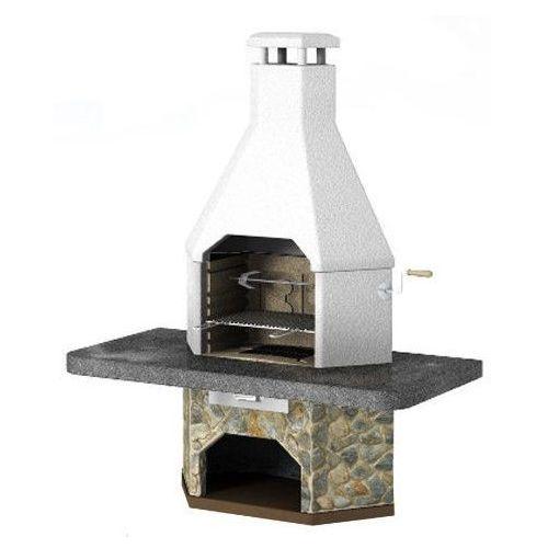 Grill betonowy z wędzarnią Corner wersja 2 - oferta [25eb4e7017c594e2]