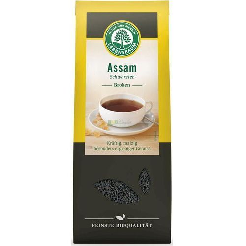Lebensbaum (przyprawy, herbaty, kawy) Herbata czarna assam liściasta bio 100 g - lebensbaum (4012346527109)