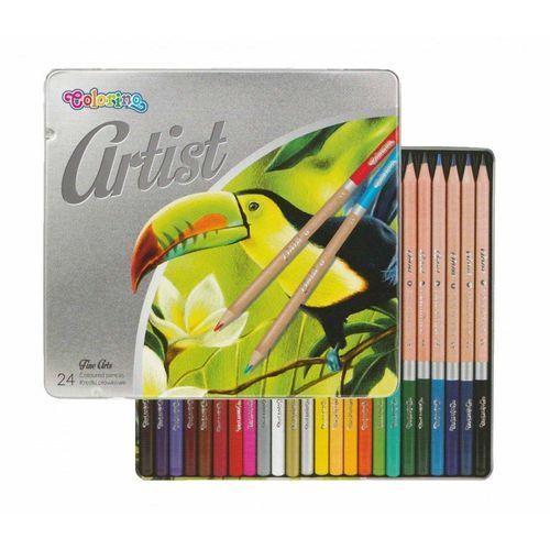 Patio-colorino Kredki ołówkowe 24 kolory artist colorino - patio