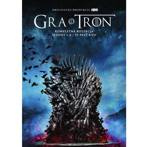 GRA O TRON, KOMPLETNA KOLEKCJA. SEZONY 1-8 (38 DVD) (Płyta DVD)