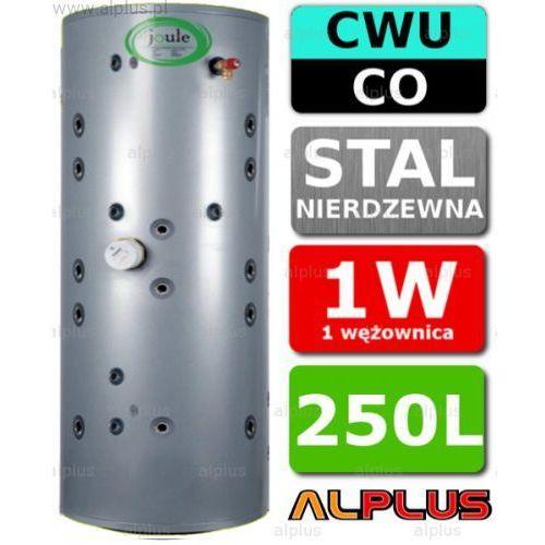 JOULE 250L THERMALSTORE 2.0 SOLAR zbiornik spiro nierdzewka 1W 1 Wężownica solarna 2w1 czyli bufor wody kotłowej i podgrzewacz CWU Wysyłka gratis