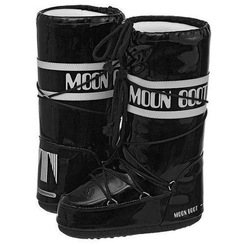 Śniegowce Moon Boot Vinil Black-White 14009700002 (MB1-d), 14009700002