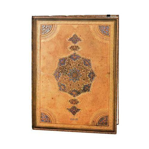 Paperblanks Kalendarz książkowy ultra 2018 12m safavid
