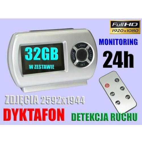 KAMERA MONITORING 24h DETEKCJA RUCHU +PILOT +32GB (kamera monitoringowa)