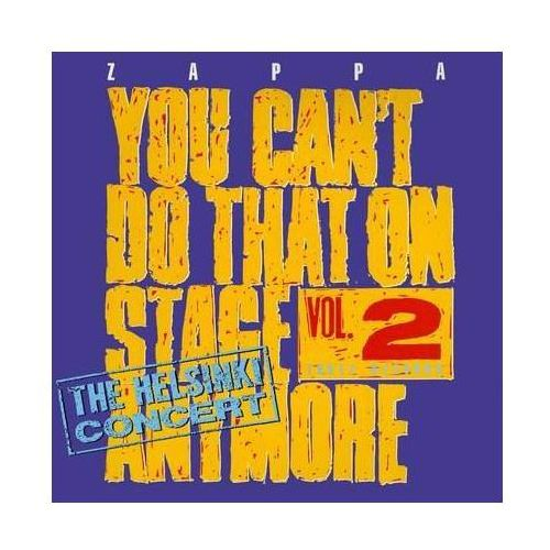 Universal music Frank zappa - you can't do that on stage anymore vol.2 - the helsinki concert