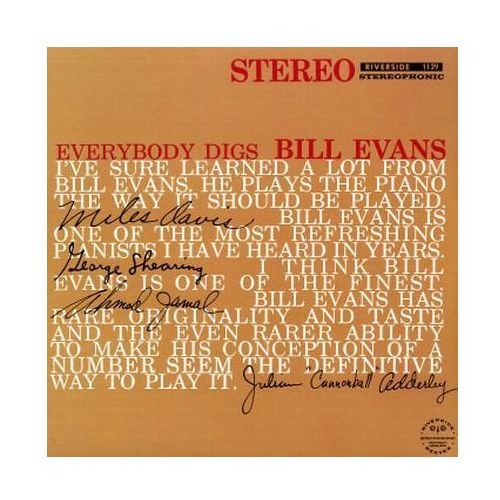 Everybody Digs Bill Evans (Keepnews Collection) [P] - Bill Evans (Płyta CD), 7230182