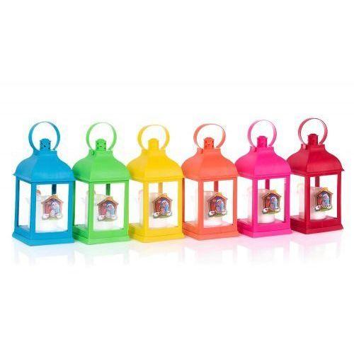 Lampion adwentowy na roraty, 6 kolorów, UPZK6022