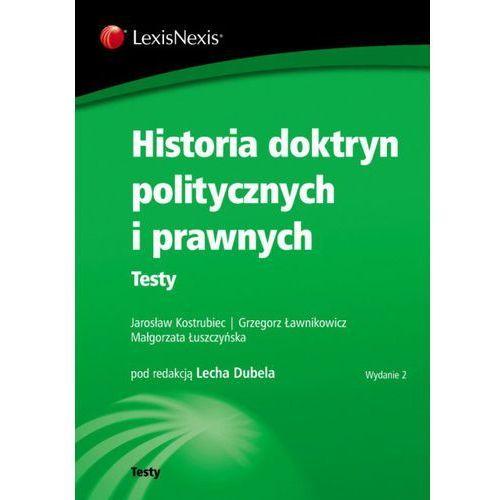 Historia doktryn politycznych i prawnych Testy (2012)