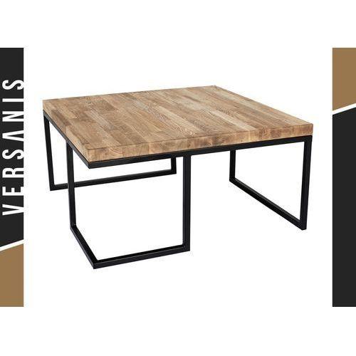Stół metalowy Loft z drewnianym blatem - Kapelańczyk, 471