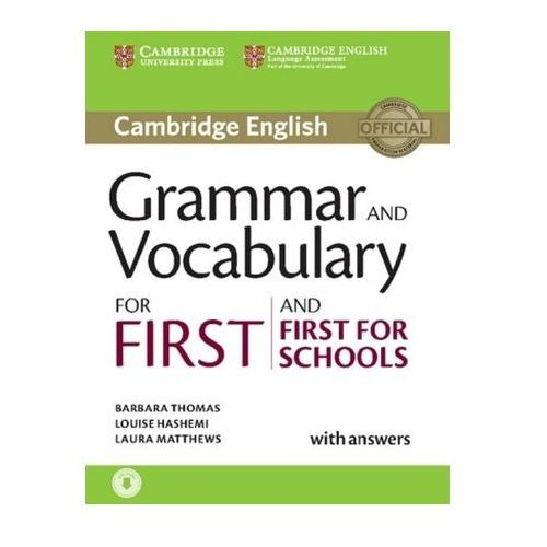 Grammar and Vocabulary for First and First for Schools (9783125329348)