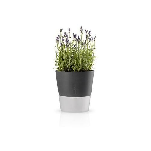 Eva Solo - samopodlewająca doniczka na zioła - 20 cm - stone grey