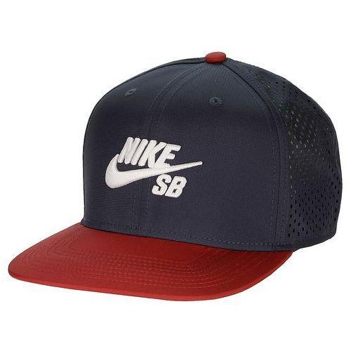 czapka z daszkiem Nike SB Performance Trucker - 451/Obsidian/Black/Gym Red/White - produkt dostępny w Snowboard-online.pl