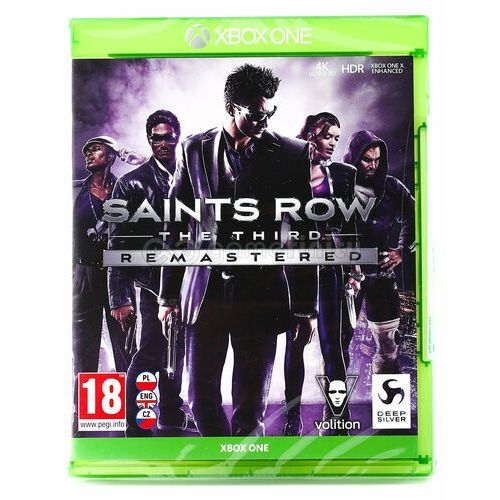 Saints Row The Third Remastered Xbox One (4020628725402)