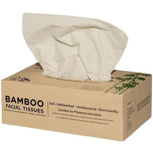 Chusteczki higieniczne z bambusa 3-warstwowe marki Zuzii