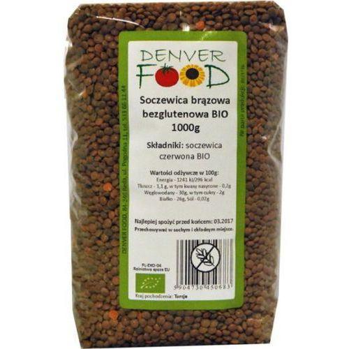 Soczewica Brązowa Bezglutenowa BIO 1 kg Denver Food (5904730450683)