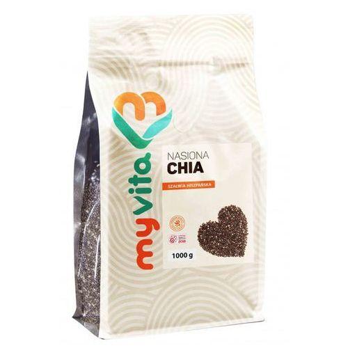 Nasiona chia (szałwia hiszpańska), 1000g, myvita marki Proness myvita