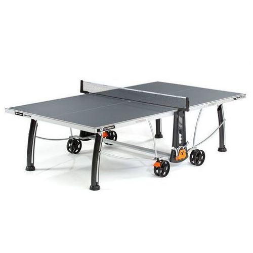 Stół tenisowy SPORT 300S CROSSOVER OUTDOOR Szary + 2 rakietki i 3 piłeczki GRATIS! (3222761336175)