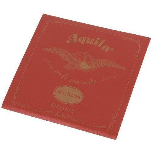 aq 86u struny do ukulele koncertowego g-c-e-a, red marki Aquila